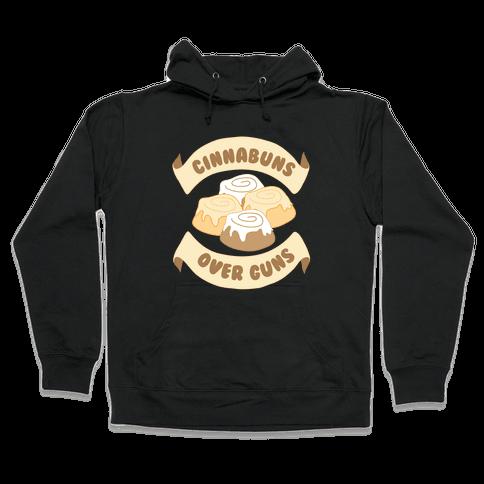 Cinnabuns Over Guns Hooded Sweatshirt