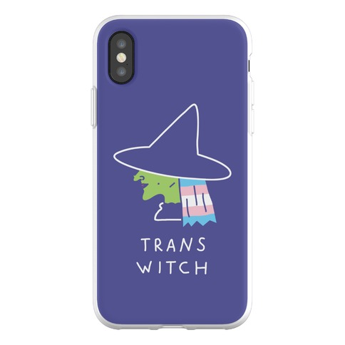 Trans Witch Phone Flexi-Case