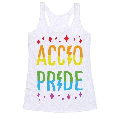 Accio Pride Racerback Tank Top
