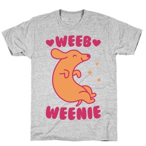Weeb Weenie Dachshund T-Shirt