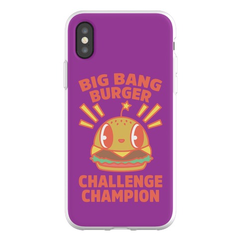 Big Bang Burger Challenge Champion Phone Flexi-Case