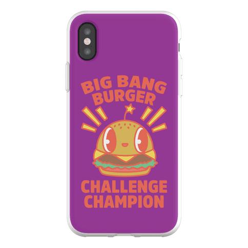 Big Bang Burger Challenge Champion Phone Flexi-Case