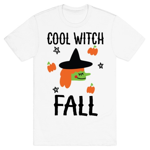 Cool Witch Fall T-Shirt