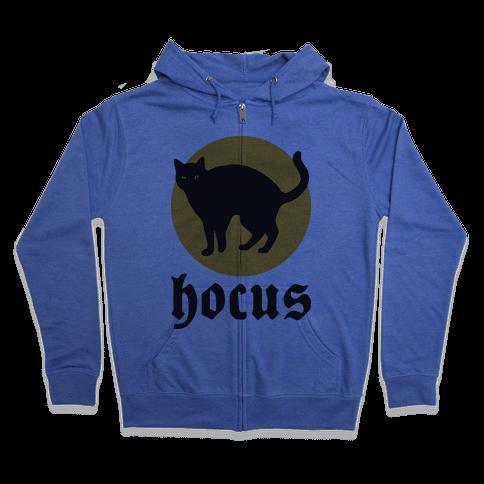 Hocus (Hocus Pocus Pair) Zip Hoodie