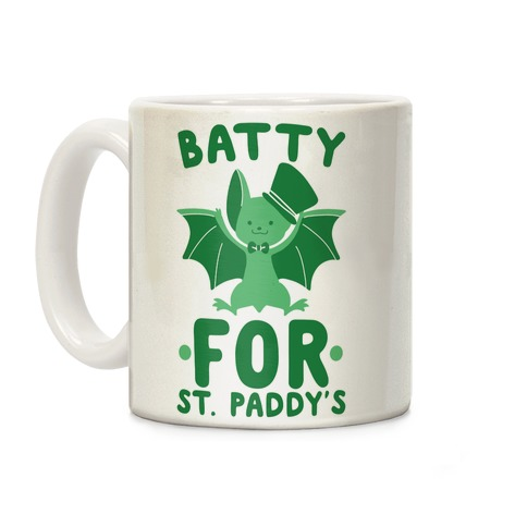 Batty for St. Paddy's Coffee Mug