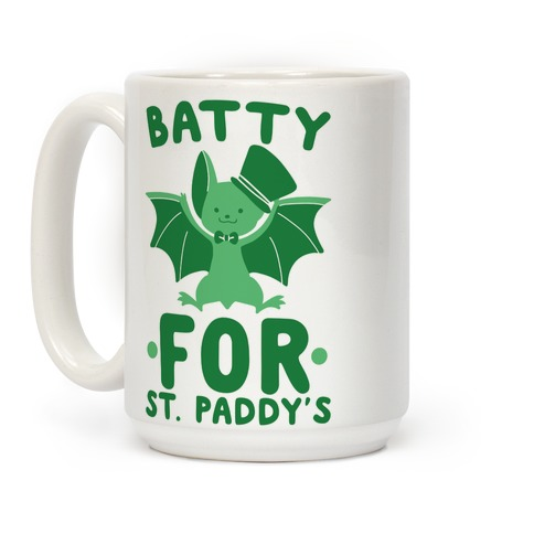 Batty for St. Paddy's Coffee Mug