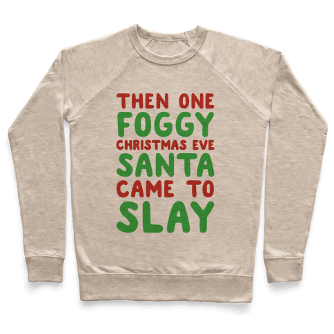 Santa Came To Slay Parody
