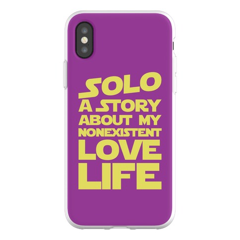 Solo Parody Phone Flexi-Case
