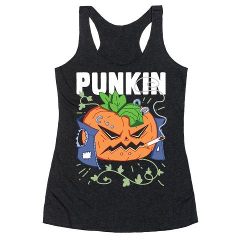 Punkin Racerback Tank Top