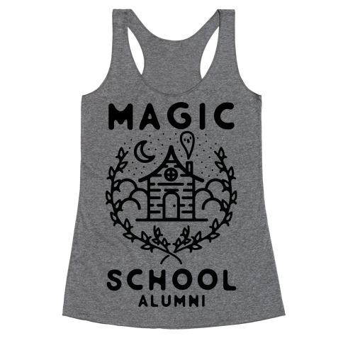 Magic School Alumni Racerback Tank Top