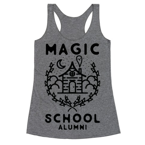 Magic School Alumni Racerback Tank Top