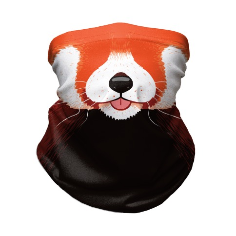 Red Panda Mouth Neck Gaiter