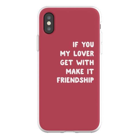 Wannabe Pair 1 Phone Flexi-Case