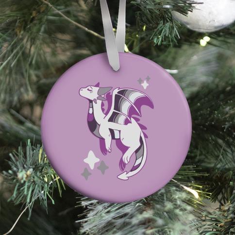 Ace Pride Dragon Ornament