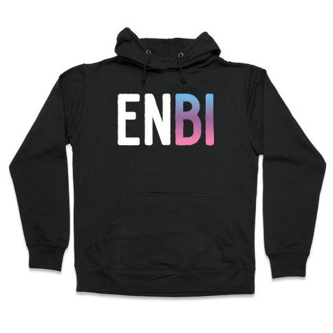 Enbi Bisexual Non-binary Hooded Sweatshirt