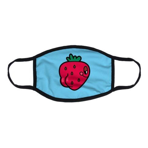 Strawbooty Flat Face Mask