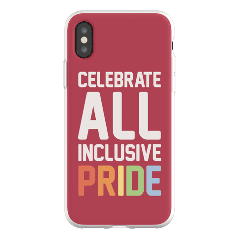 Celebrate All Inclusive Pride Phone Flexi-Case