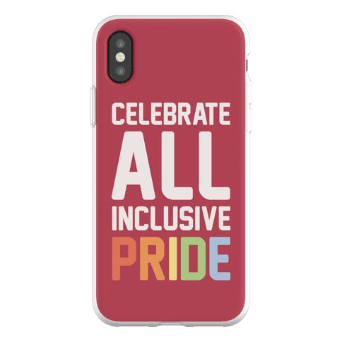 Celebrate All Inclusive Pride Phone Flexi-Case