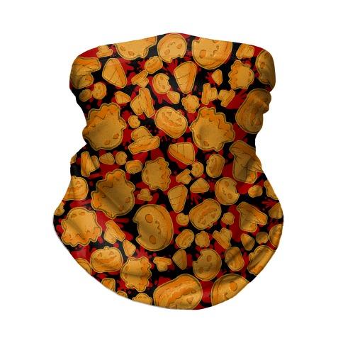 Halloween Nuggies Pattern Neck Gaiter