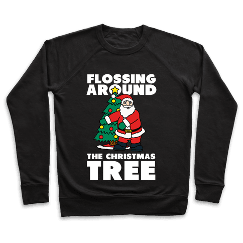 Flossing Around the Christmas Tree Pullover
