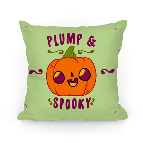 Plump and Spooky Pillow