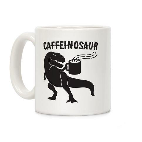 Caffeinosaur Coffee Mug