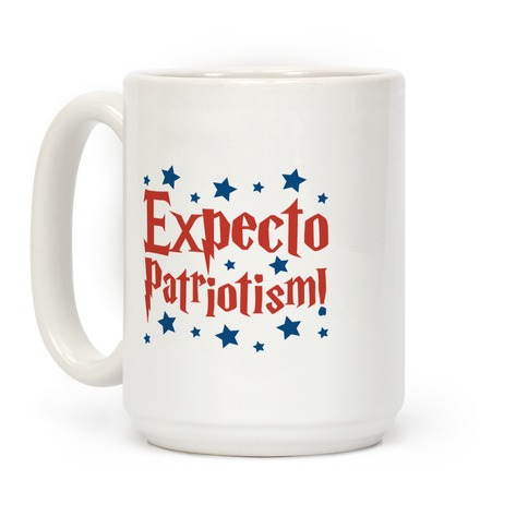 Expecto Patriotism Parody Coffee Mug