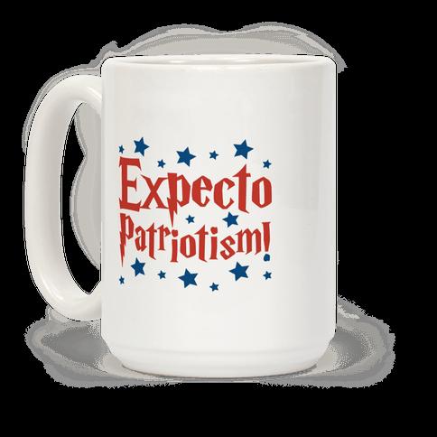 Expecto Patriotism Parody Coffee Mug