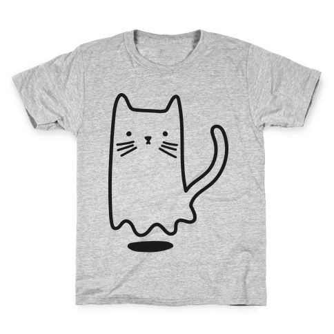 Ghost Cat Kids T-Shirt