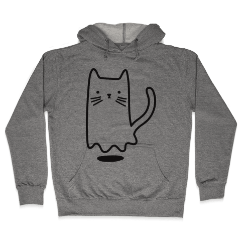 Ghost Cat Hooded Sweatshirt