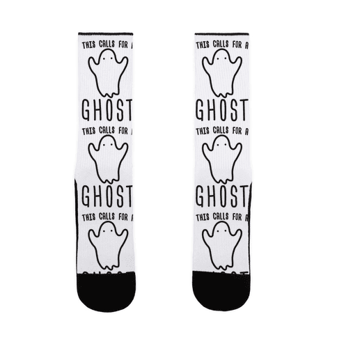 This Calls For A Ghost Sock