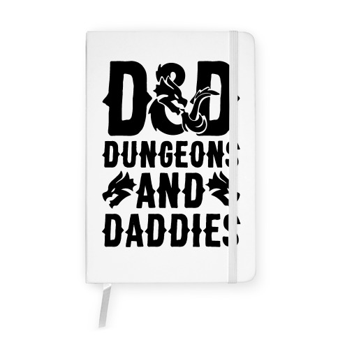 Dungeons and Daddies Parody Notebook