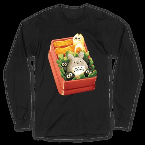Totoro Bento Long Sleeve T-Shirt
