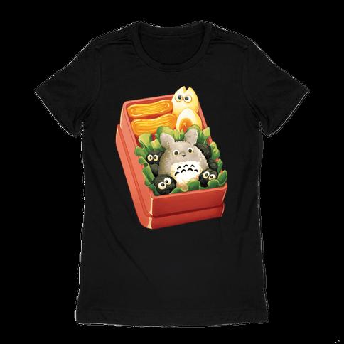 Totoro Bento Womens T-Shirt