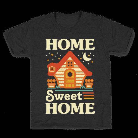 Home Sweet Home Animal Crossing Kids T-Shirt