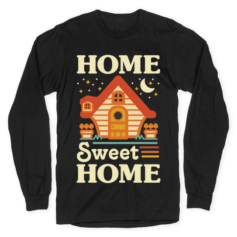 Home Sweet Home Animal Crossing Long Sleeve T-Shirt