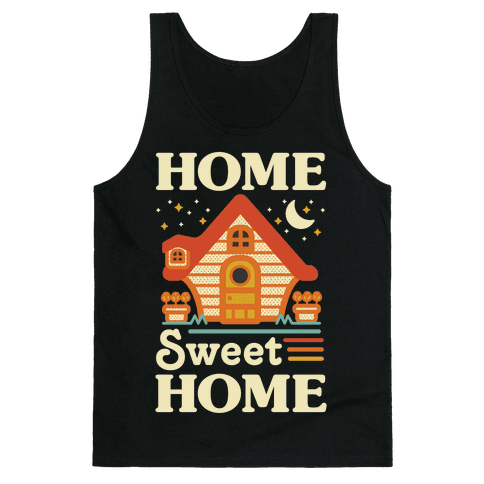 Home Sweet Home Animal Crossing Tank Top