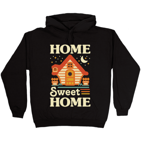 Home Sweet Home Animal Crossing Hooded Sweatshirt
