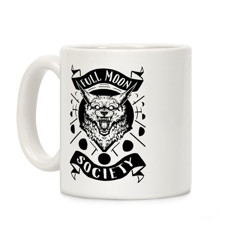 Full Moon Society Coffee Mug