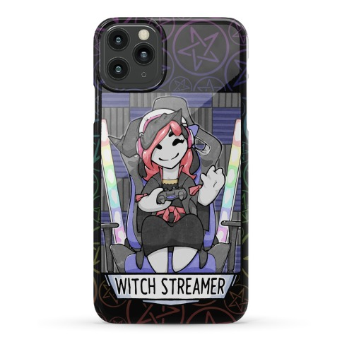 Witch Streamer Phone Case