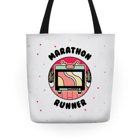 (TV) Marathon Runner Tote