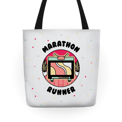 (TV) Marathon Runner  Tote