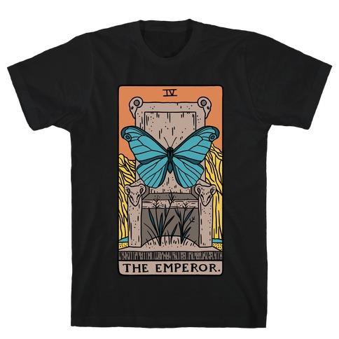 The Emperor Butterfly Tarot T-Shirt