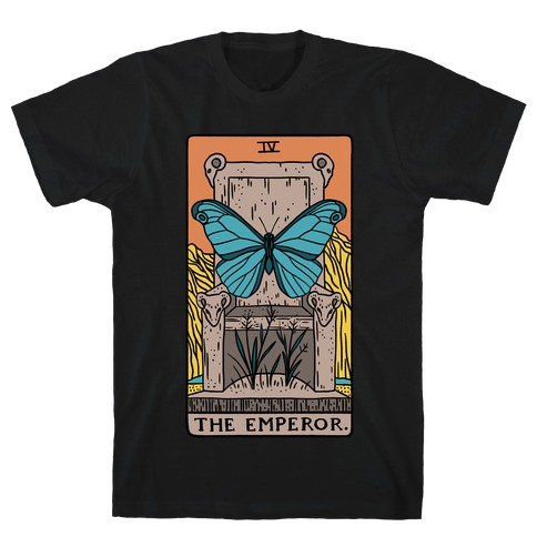 The Emperor Butterfly Tarot T-Shirt