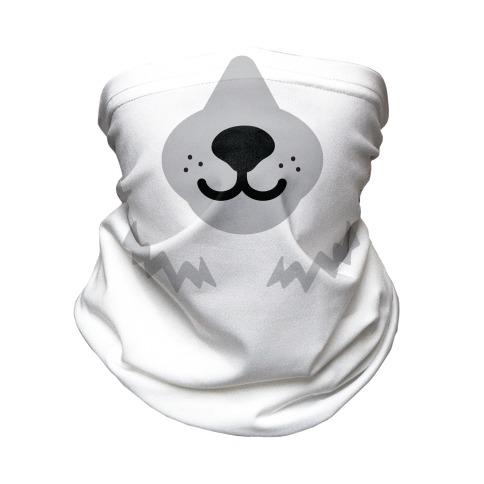 Polar Bear Snout Neck Gaiter