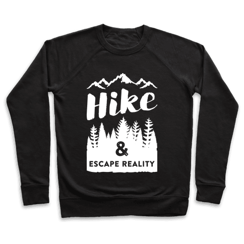 Hike & Escape Reality (White) Pullover