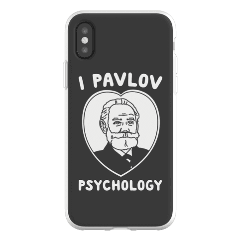 I Pavlov Psychology Phone Flexi-Case