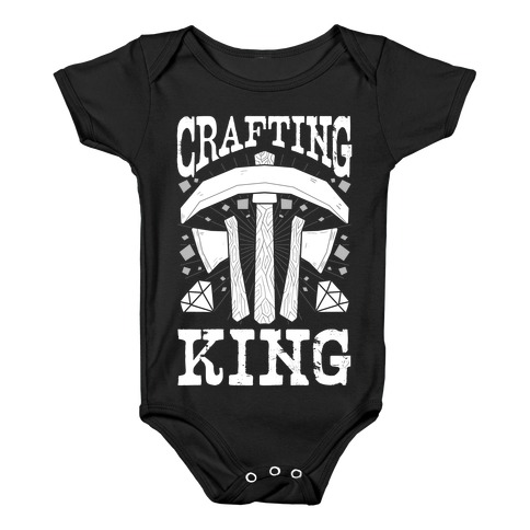Crafting King Baby Onesy