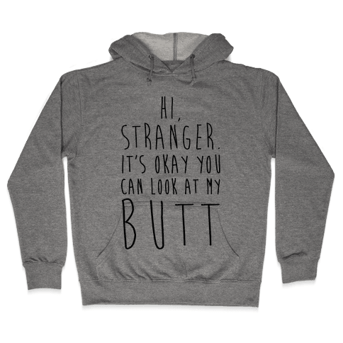Hi Stranger Hooded Sweatshirt