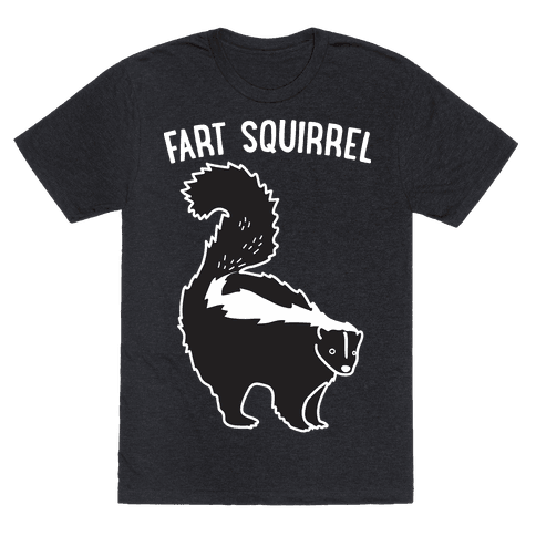 Fart Squirrel Skunk Mens T-Shirt